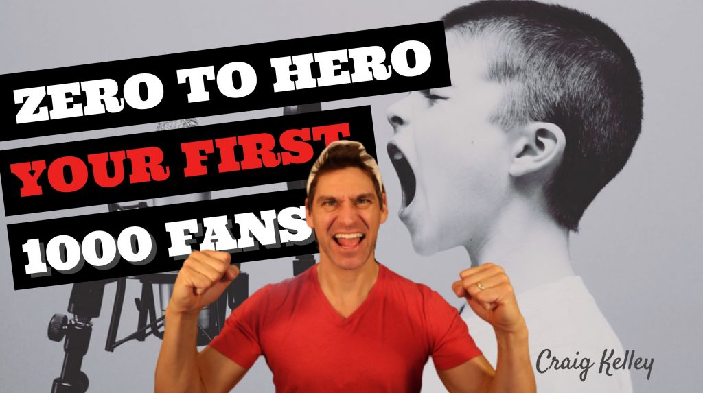 How To Market Your Music And Go From Zero To Hero - 0 Fans to 1,000 Fans [VIDEO]