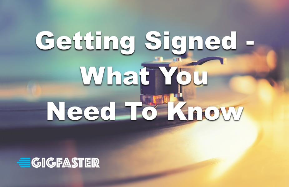 how to get signed to a record label