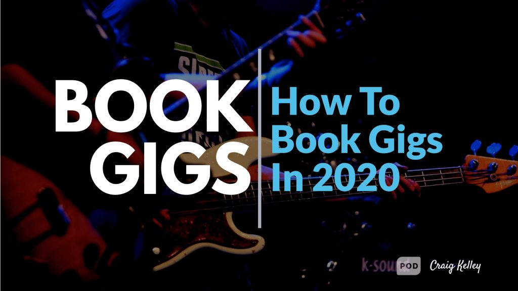 Book Gigs - How to Book Gigs