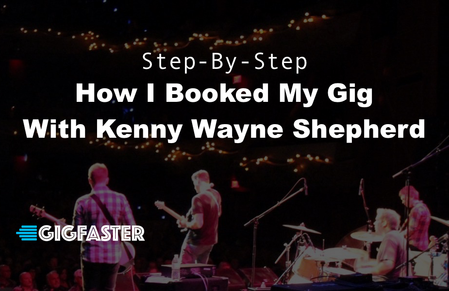 Step By Step How To Book A Gig