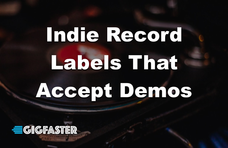 Indie Record Labels That Accept Demos
